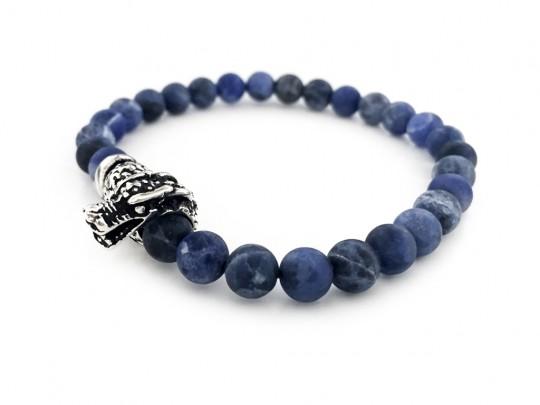anke decker_Armband blue dragon