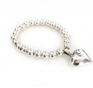 anke decker_Armband silver big heart
