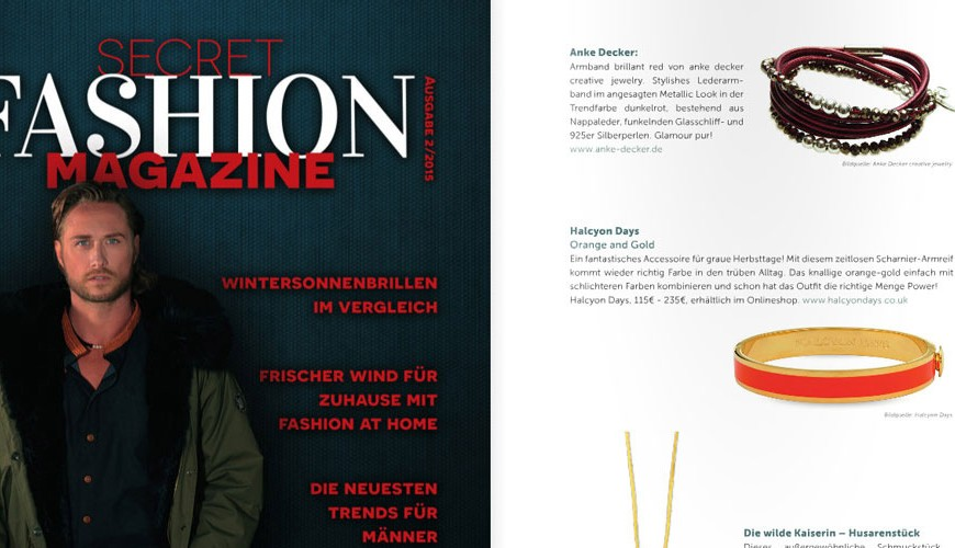 anke decker Secret Fashion Magazine