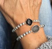 anke decker_Armband silver onyx1
