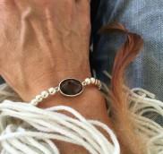 anke decker_Armband silver rauchquarz2