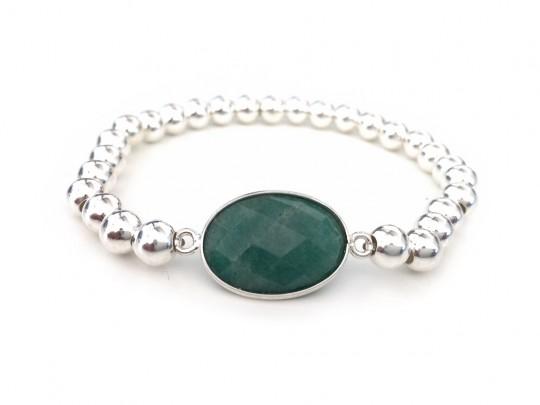 anke decker_Armband silver smaragd