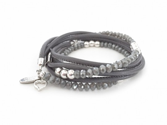 anke decker Armband brillant grey
