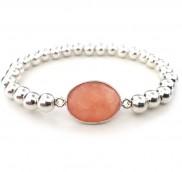 anke decker Armband mit 925er Silber Perlen