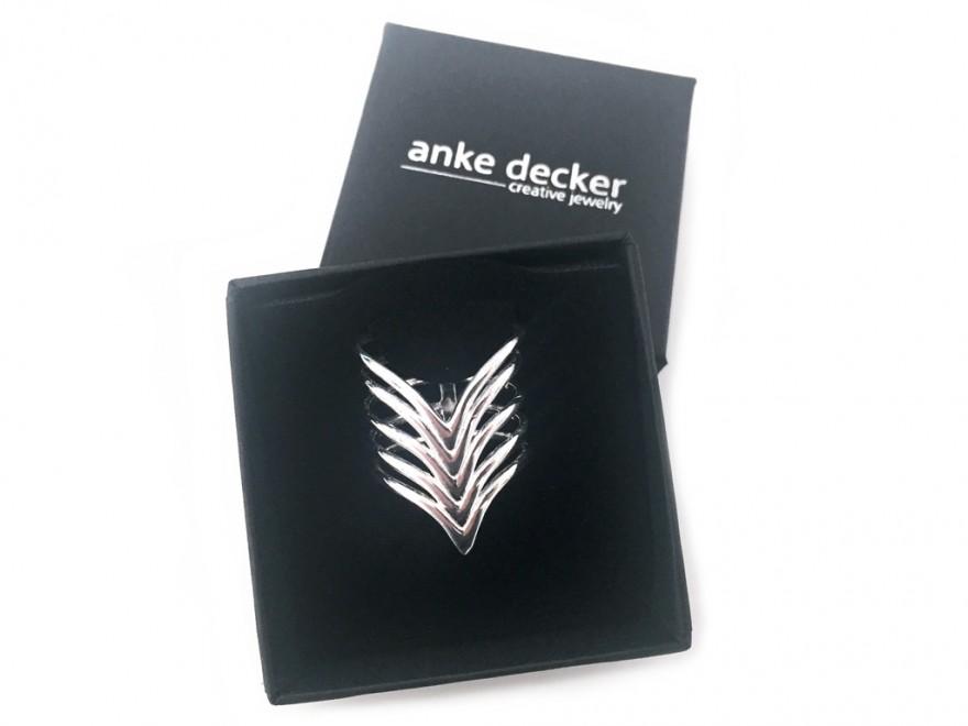 anke decker Ring 925er Silber
