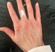 anke decker 925er Silber Ring
