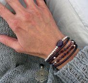 anke decker Armband rot