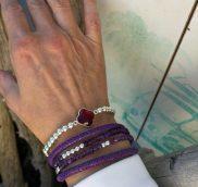 Armband in der Trendfarbe Ultra Violet